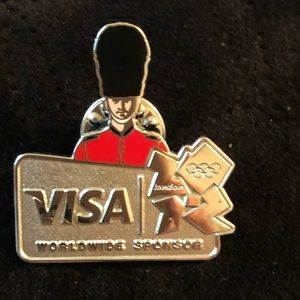 2012 London Olympics Collectible Label Pin